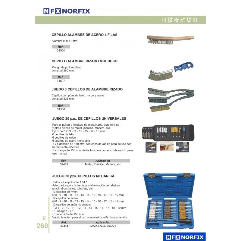 Cepillos de limpieza pulimento de metales - Limpiador de metales ...