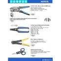 Alicates para terminales eléctricos
